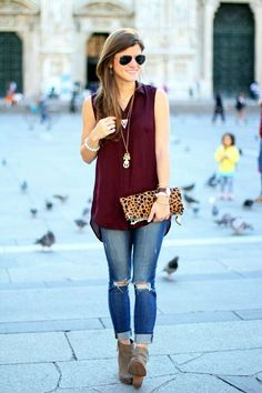 nice How to wear Ankle Boots Outfit in Style? (45 Ideas) - Latest Fashion Trends
