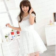 Buy '59 Seconds – Beaded Mesh Overlay Crochet A-Line Dress' with Free International Shipping at YesStyle.com. Browse and shop for thousands of Asian fashion items from Hong Kong and more!