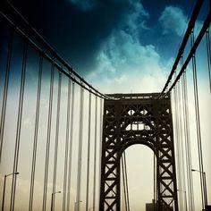 Instagrams around New York. George Washington Bridge. Calm Cradle Photo & Design
