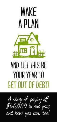 How we paid of $60,000 of debt in one year (and you can, too!) #debt Pay Off Debt, how to pay off debt