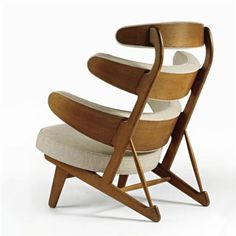 chair by Poul M. Volther.