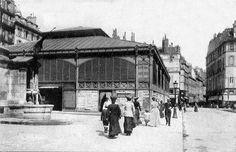 Paris 1er - Le marché Saint-Honoré vers 1900