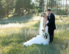 Nicole and Tommy - bride and groom - photo courtesy of Cadey Reisner Weddings