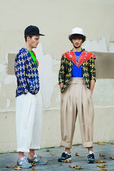 Chris and Lucho shot by Kay Smiths and styled with pieces from Juun J, Qasimi, Wooyoungmi, Bernhard Willhelm and more, for Cielo magazine.