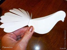 DIY Paper Dove - The Idea King