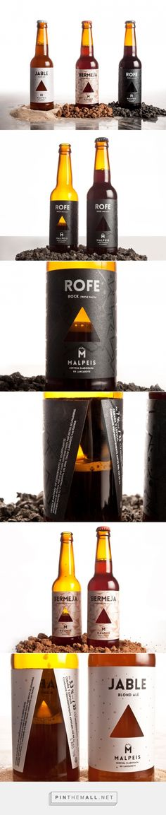 Malpeis Craft Beer - Packaging of the World - Creative Package Design Gallery - http://www.packagingoftheworld.com/2016/05/malpeis-craft-beer.html