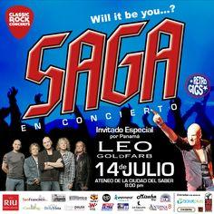 Saga en un concierto de historia del Rock progresivo - Mastrip.net