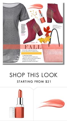 """""""Fall Dress"""" by edita-n ❤ liked on Polyvore featuring Clinique and Hourglass Cosmetics"""