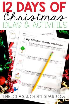 It's (almost) the most wonderful time of the year! The holidays are quickly approaching and I am not sure who is more excited, students or teachers! #Christmasintheclassroom #Highschoolenglish #Middleschoolenglish #Christmaswriting #Christmasactivities