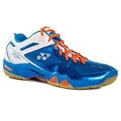 Yonex Men's Pro Cushion SHB-02 MX Badminton Shoe-Blue-8
