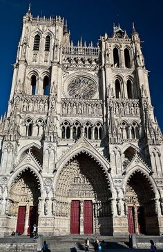Catedral de Amiens France. Arquitectura gotica: