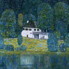 Gustav Klimt  1915  Litzlbergkeller am  Attersee