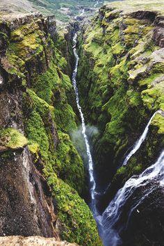 Glymur, Iceland (by Vasily Tserevitinov)