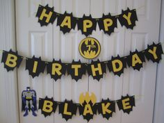 Hey, I found this really awesome Etsy listing at http://www.etsy.com/listing/99533976/batman-birthday-banner-personalized-with