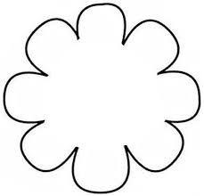 image result for 6 petal flower outline applique pinterest
