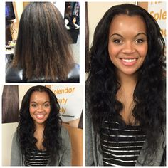 Sewin using and unprocessed hair that will last. Styled at 😀 Before After Hair, Beauty Supply, Hair Beauty, Style, Swag, Outfits, Cute Hair