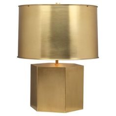 Mary McDonald Pythagorus Table Lamp in Matte Brass
