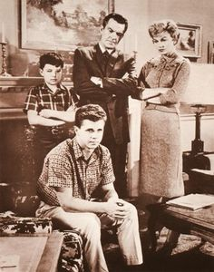 Ward, June, Wally and the Beav...Where's Lumpy and Eddie Haskell?