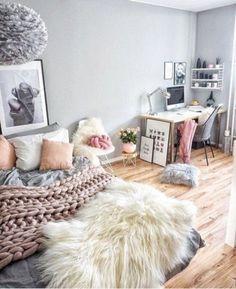 Cute Teen Bedroom Designs In Vintage Style 18