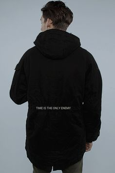 "Abstrait Parka: ""Time is the only enemy."""
