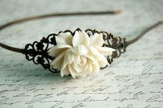 pretty #flower #hairband