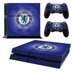 CHELSEA Playstation 4 PS4 Skin Decal Sticker Cover Playstation 4 Custom Made