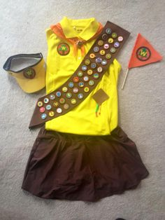 "Disney Costume ""A wilderness explorer is a friend to all, be a plant or fish or tiny mole! Run Disney Costumes, Up Costumes, Halloween Costumes, Costume Ideas, Cosplay Ideas, Disney Half Marathon, Disney Princess Half Marathon, Disney Races, Disney Trips"