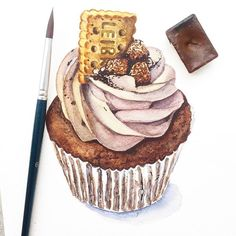 This Sunday we gonna learn how to create Etsy style watercolor desserts illustrations. Cheesecake, cupcake and an ice cream are in the menu It's MYR160/pax for 5 hours session (MYR190/pax with Pentel 24 colors). Registration will be closed tomorrow. Illustration by @koo.alina #tccworkshops