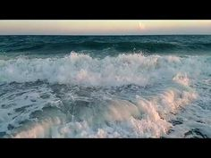 Relaxing Music - Part 2 Ocean Sounds, Relaxing Music, Beach Waves, Amazing, Water, Outdoor, Youtube, Poem, Gull