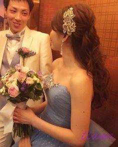 美人花嫁さまの幸せホテルウエディングな一日♡♡ |大人可愛いブライダルヘアメイク『tiamo』の結婚カタログ