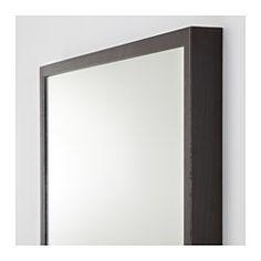 IKEA - STAVE, Mirror, white, , Safety film  reduces damage if glass is broken.