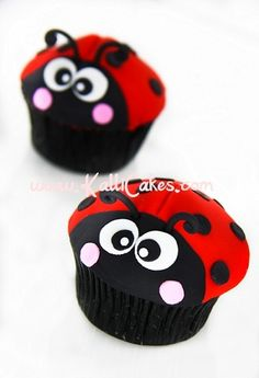 Ladybug Cupcake idea