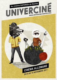 Univerciné - Mathilde Aubier ART + GRAPHIC DESIGN + ILLUSTRATION