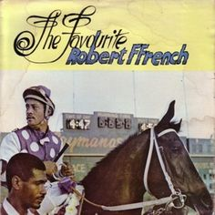 'The Favorite' was a dancehall vocal album by Robert Ffrench that was released in 1985 on Black Solidarity Records.  The album art was by Wilfred Limonious who is flexing very different design muscles on the album cover here. More - http://reggaealbumcovers.com/robert-ffrench-%E2%80%8E-the-favourite-1985/