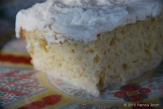 Tres Leches Cake ~ I've made this a couple of times, it's soooo yummy! It's really authentic and also very easy to make.