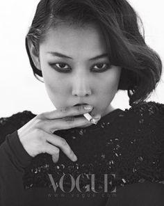 ASIAN MODELS BLOG: Han Jin in Editorial for Vogue Korea, August 2010