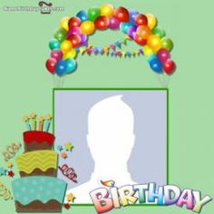Personalized your photo within a birthday frames free. Best online happy birthday photo frame editor will provide you a huge collection of frames. Happy Birthday Photo Editor, Birthday Card With Photo, Happy Birthday Cake Photo, Free Happy Birthday Cards, Happy Birthday Frame, Birthday Photo Frame, Birthday Wishes Cake, Happy Birthday Photos, Birthday Frames