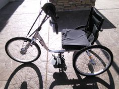 Hand trike.  Staying active is so important! For those of who have disabilities its critical that they can keep healthy.  Check out other custom bikes at our website.  http://www.utahtrikes.com/RECENTTRIKE-4296518_SunHT-38-SpeedHandTrike.html