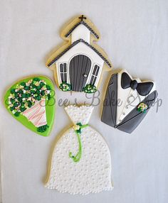 country wedding #cookies  revisited by Ali Bee's Bake Shop, via Flickr