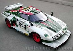 1977 Alitalia Lancia Stratos Turbo Group 5 - Giro D'italia