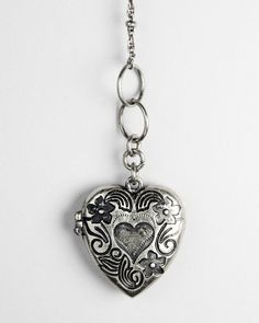 Lovers Locket Silver