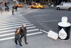 Clever Crosswalk Advertising - FedEx Kinko's