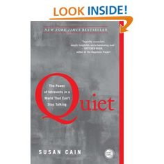 "Read ""Quiet The Power of Introverts in a World That Can't Stop Talking"" by Susan Cain available from Rakuten Kobo. The book that started the Quiet Revolution At least one-third of the people we know are introverts. Reading Lists, Book Lists, Reading Books, Reading 2016, Happy Reading, Reading Online, The Power Of Introverts, Books To Read, Book Covers"