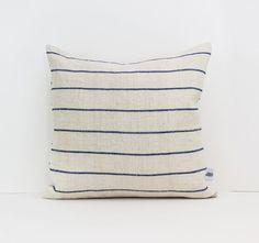 Stripe Pillow Covers Linen