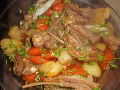 Ragout+d+agneau+navets,carottes,pommes+de+terre Pot Roast, Lamb, Beef, Chicken, Cooking, Ethnic Recipes, Bouquet Garni, Lactose, Diners