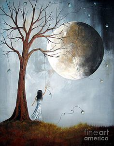 Serene Art Print by Shawna Erback by Shawna Erback