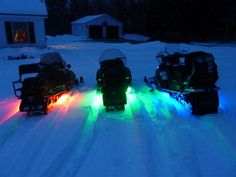 #snowmobiles #underglow #lights