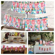 Baby shower my friend did-great inspiration!