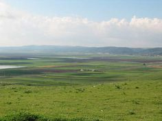 Yizreel valley and towards the Carmel mountains