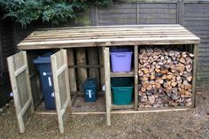 Shed Plans - Shed Plans - Image from www. - Now You Can Build ANY Shed In A Weekend Even If Youve Zero Woodworking Experience! - Now You Can Build ANY Shed In A Weekend Even If You've Zero Woodworking Experience! Wood Shed Plans, Storage Shed Plans, Diy Storage, Garage Plans, Recycling Bin Storage, Storage Bins, Clever Storage Ideas, Outside Storage Shed, Porch Storage